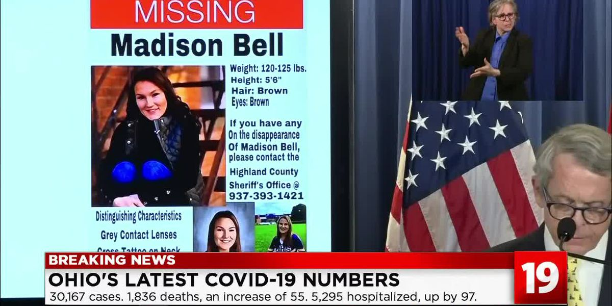 Gov. DeWine pleads with Ohioans to help find missing 18-year-old Madison Bell
