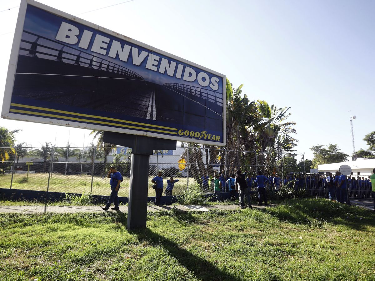 Goodyear halts tire production in Venezuela as economy slips