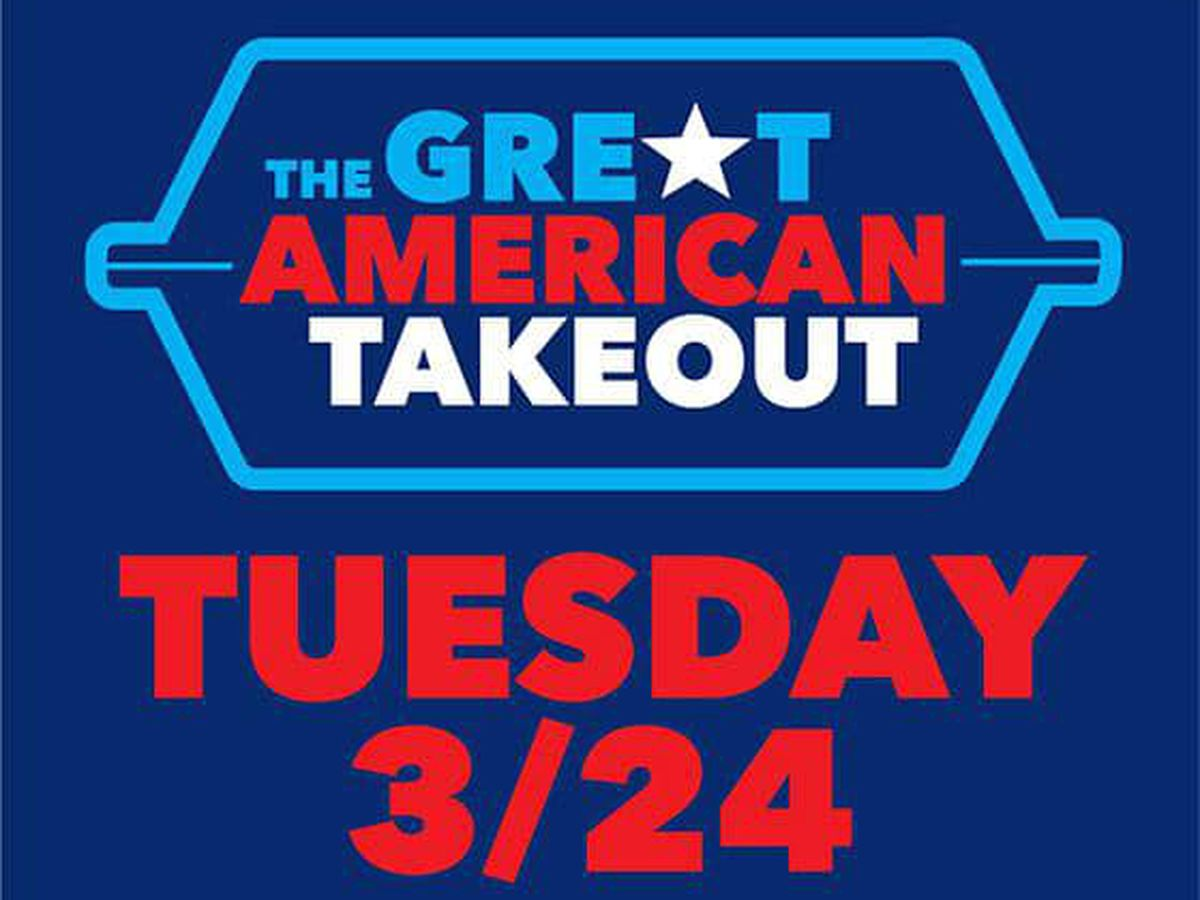 Great American Takeout campaign urging everyone in Northeast Ohio to order at least 1 meal to go today