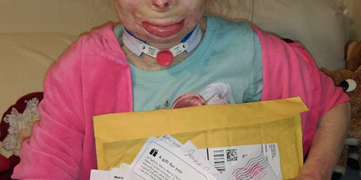 Little girl loses family in arson, asks only for cards this Christmas