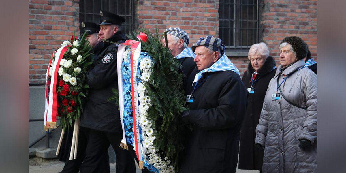 Auschwitz survivors warn of rising anti-Semitism 75 years after camp liberation