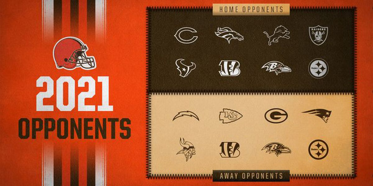 Cleveland Browns announce opponents for 2021 NFL season