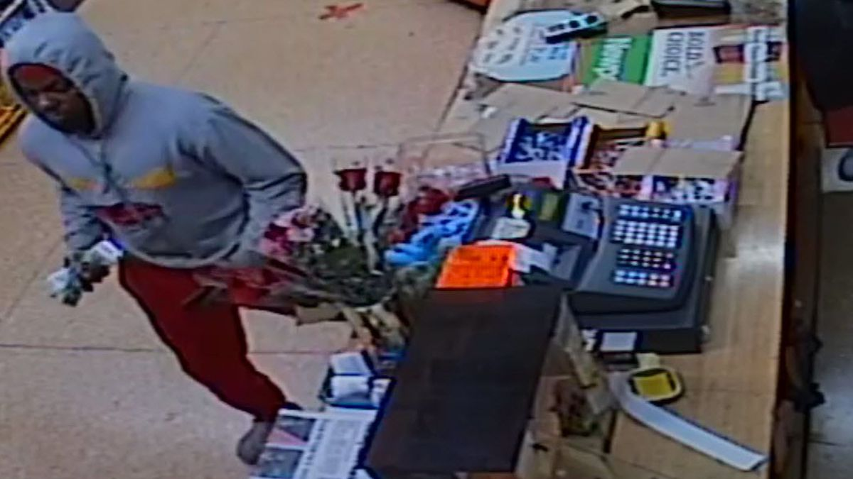 Man caught stealing customer's cell phone on store security camera wanted by Lorain Police
