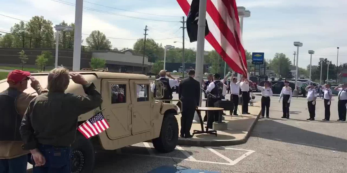 POW MIA flags raised at all Pat O'Brien Chevrolet locations to honor Armed Forces Week