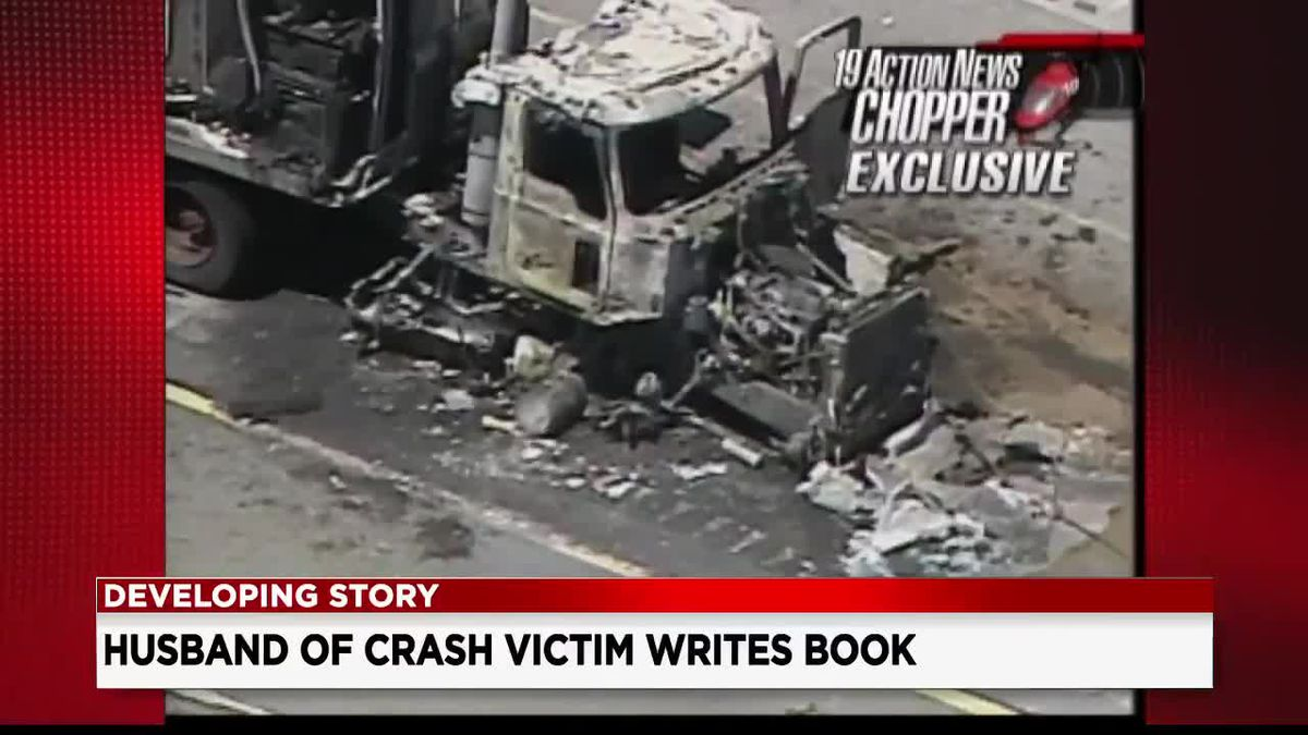 Man returns to Akron Children's hospital for book about Ohio Turnpike crash that killed his wife and seriously injured his 2 sons