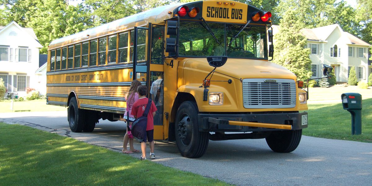 School bus cameras being installed in Hudson to catch stop sign violators
