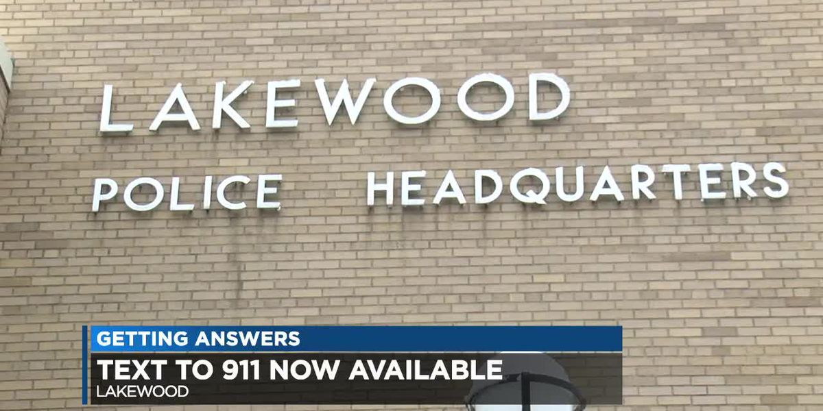 Got an emergency in Lakewood? You can now text 911 dispatchers