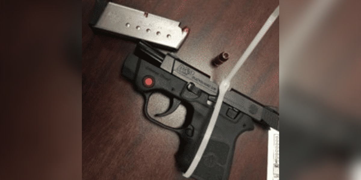 TSA finds gun in man's carry-on bag at Akron-Canton Airport