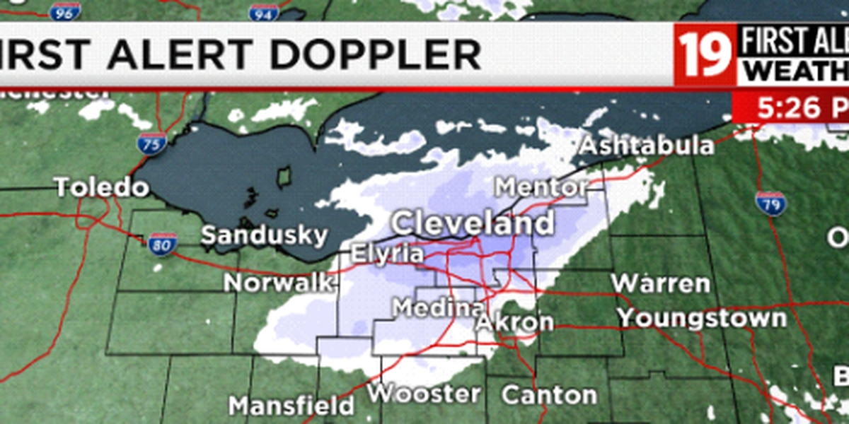 Winter Weather Advisory, Lake Effect Snow Warning issued for Northeast Ohio counties