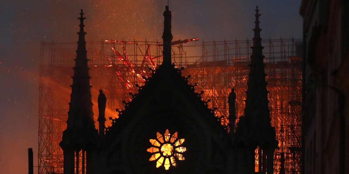 Parma firefighter discusses the logistical nightmare of trying to extinguish a massive cathedral fire