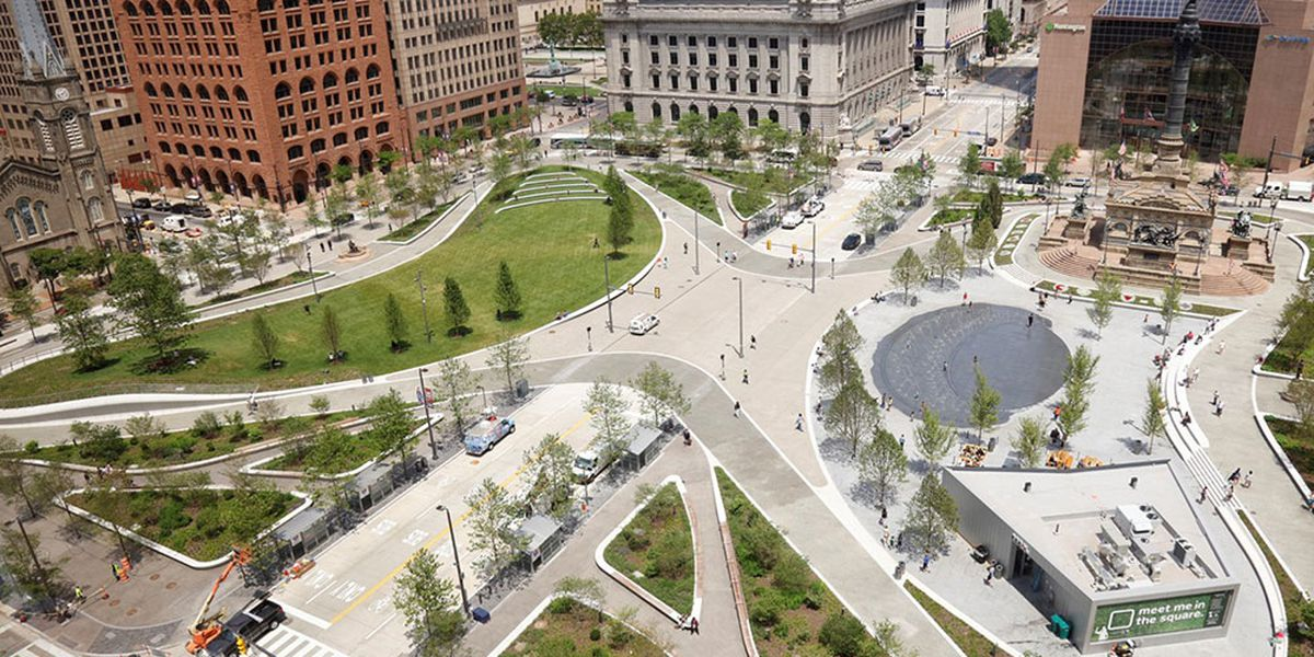 Cleveland Public Square redesign wins major award even though public perception is mixed