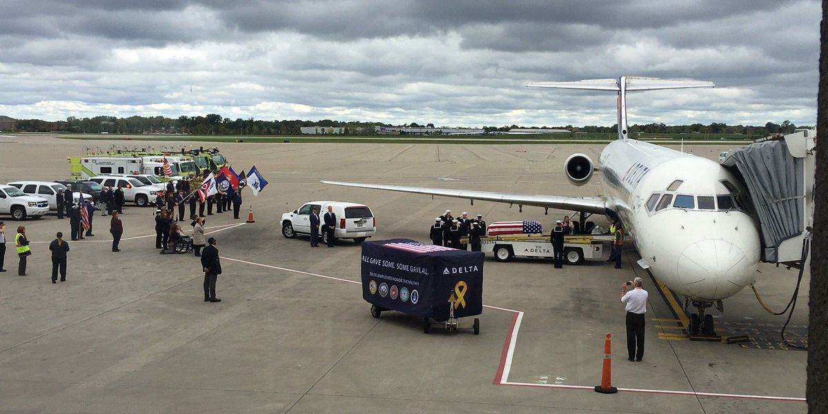 Remains of Elyria man killed in Pearl Harbor arrive in Cleveland