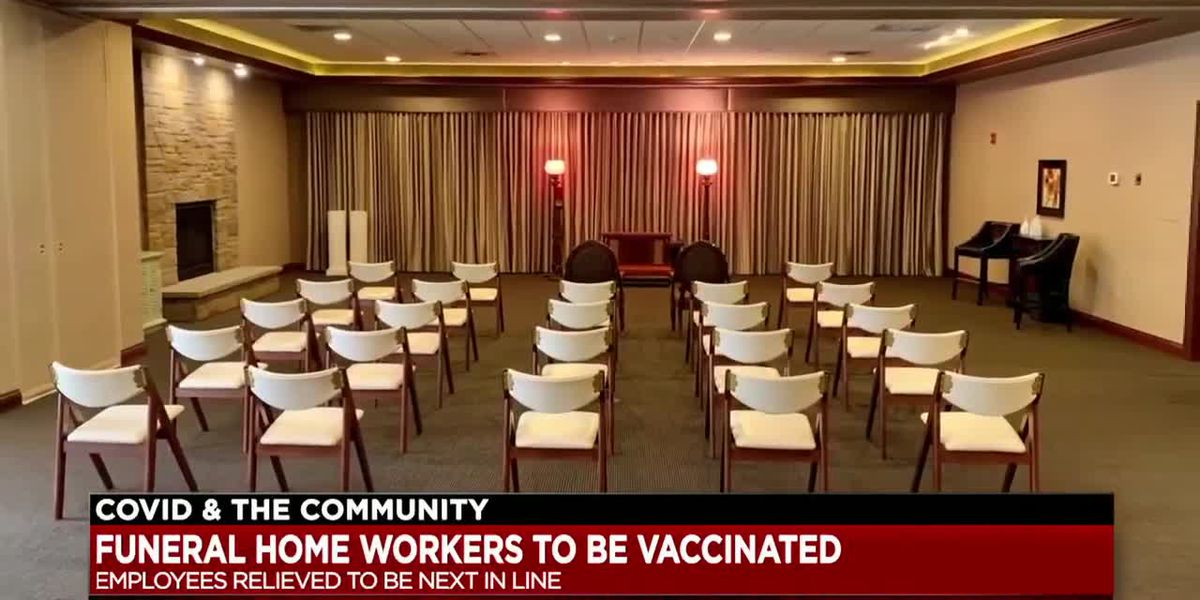 Funeral home operators and employees relieved to be next up on Ohio's vaccination list