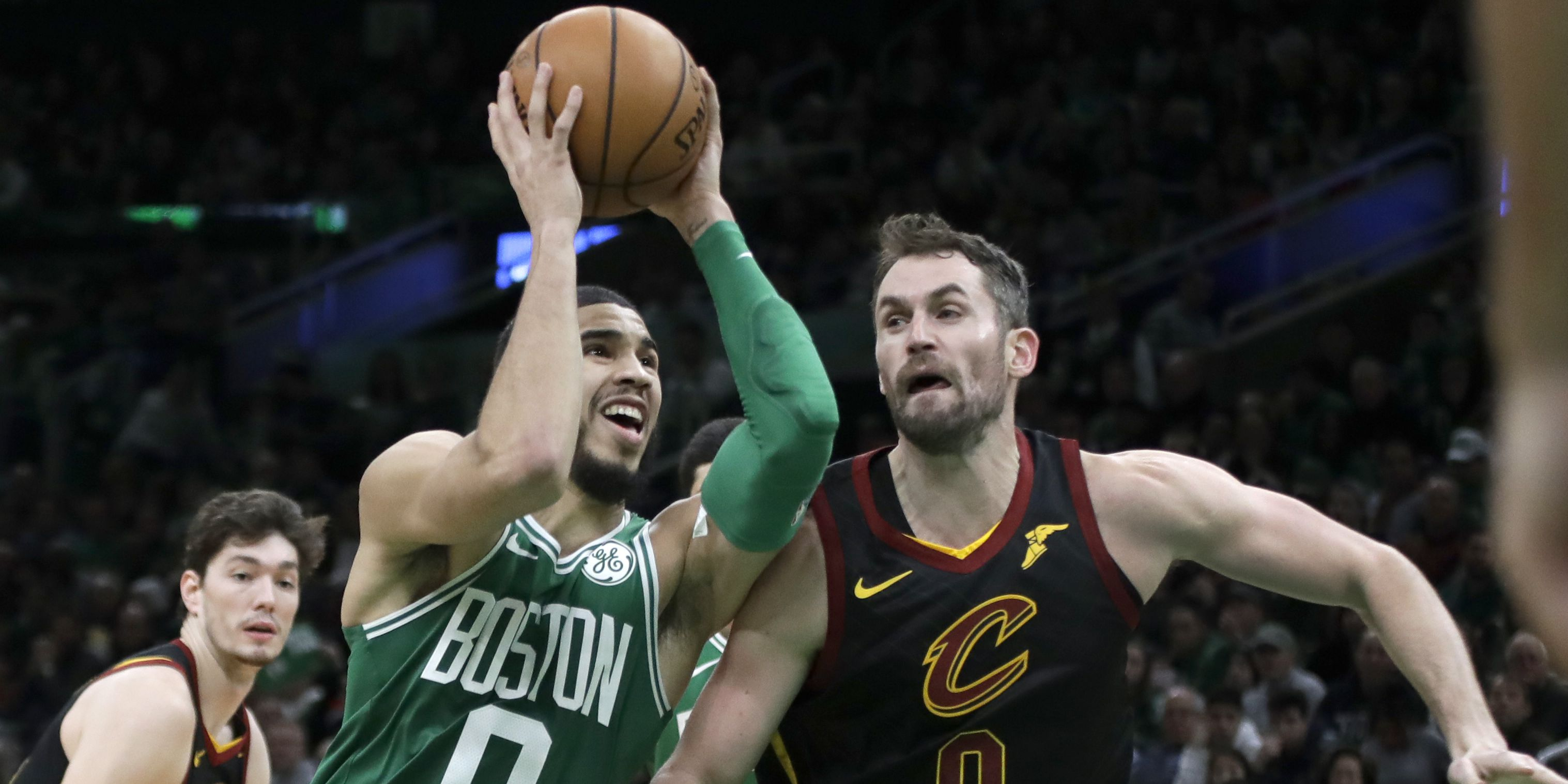 Cavs fall in Boston