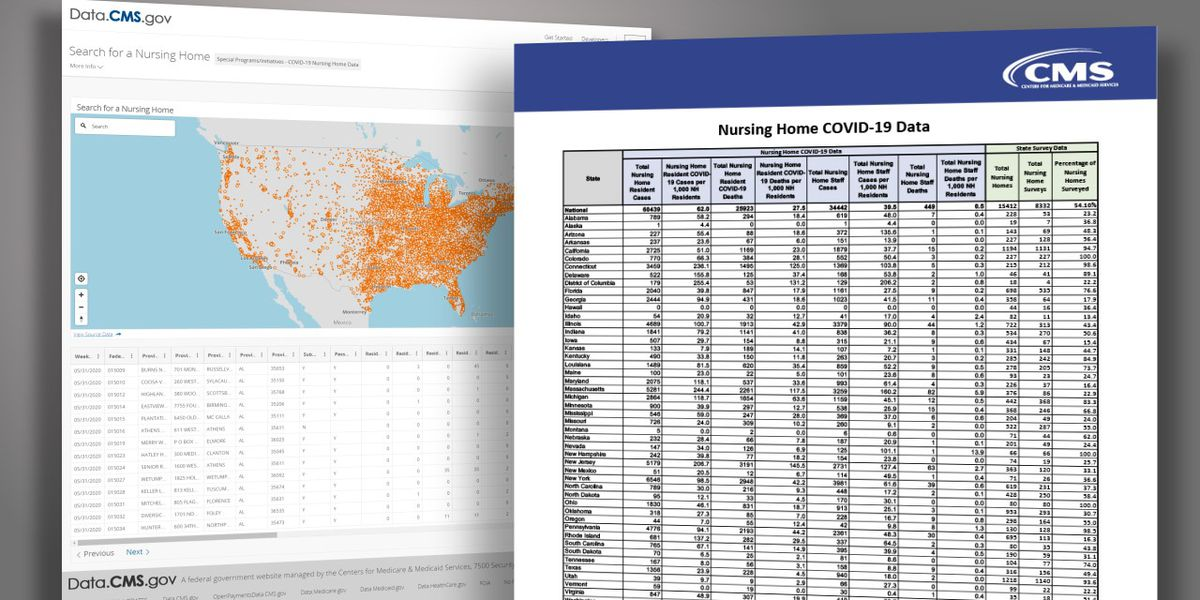 New federal data: Nationwide nursing home deaths from Covid-19 hit almost 32,000