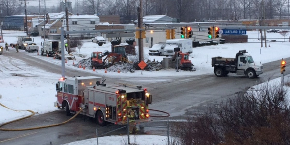 Repairs made after gas leak in Eastlake, Dominion working to turn on service to affected locations