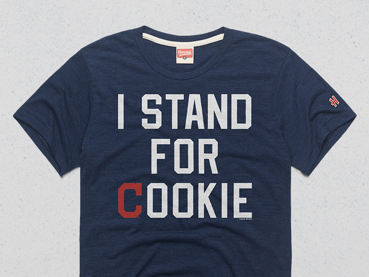 Stand up and give back with the Cleveland Indians new t-shirt honoring Carlos Carrasco