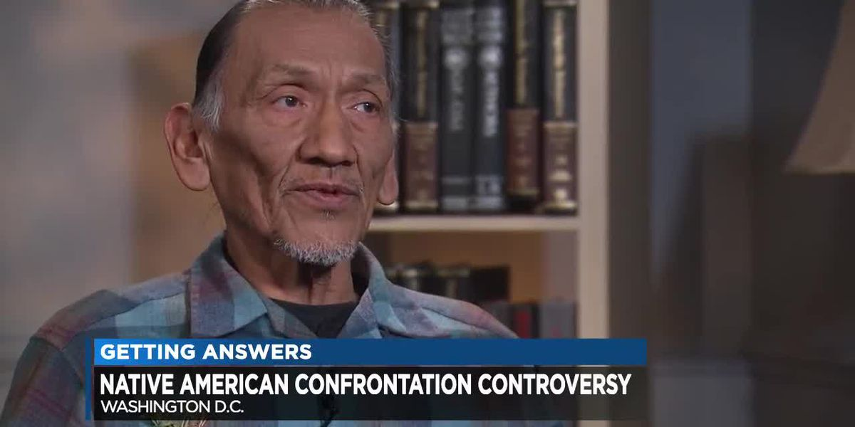 Controversy surrounds confrontation of Native American Vietnam War vet
