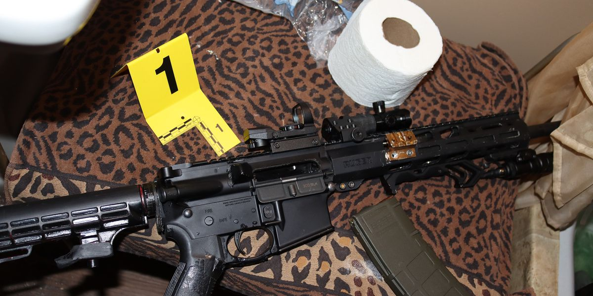Madison Township drug bust yields meth and rifle; suspect arrested