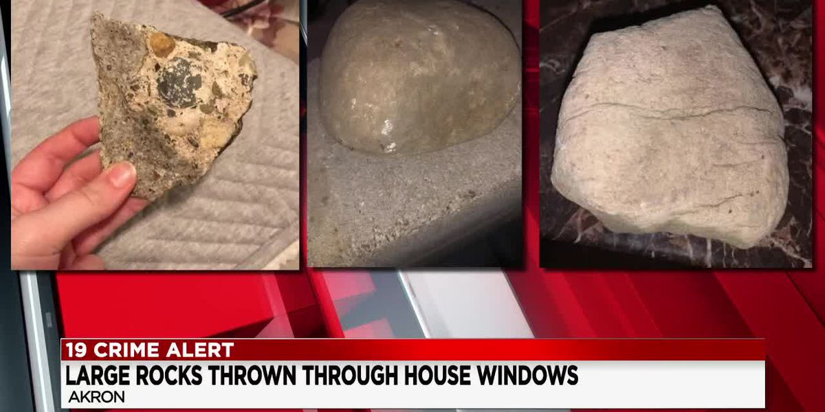 Police looking for suspects accused of throwing large rocks into several Summit Count homes