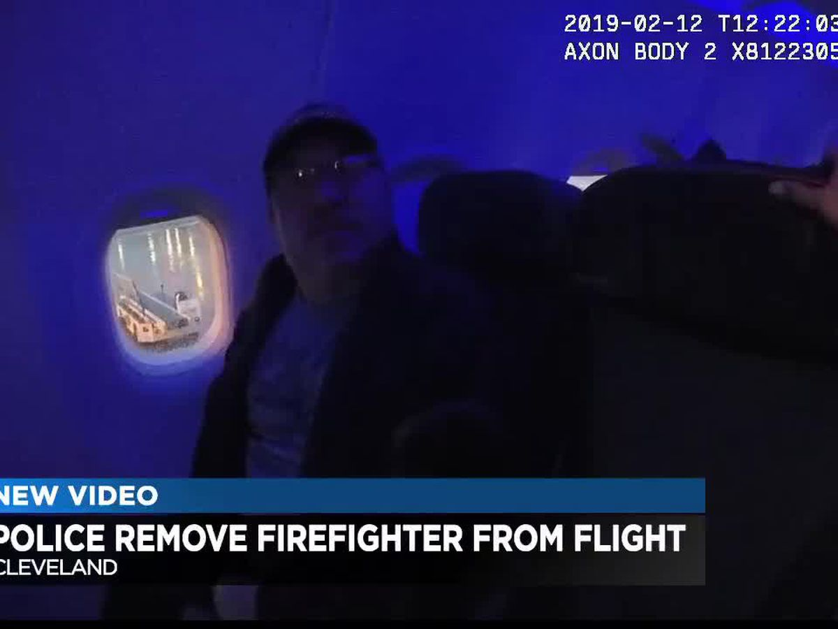 Cleveland 19 obtains video of high-ranking firefighter arrested three times at the airport