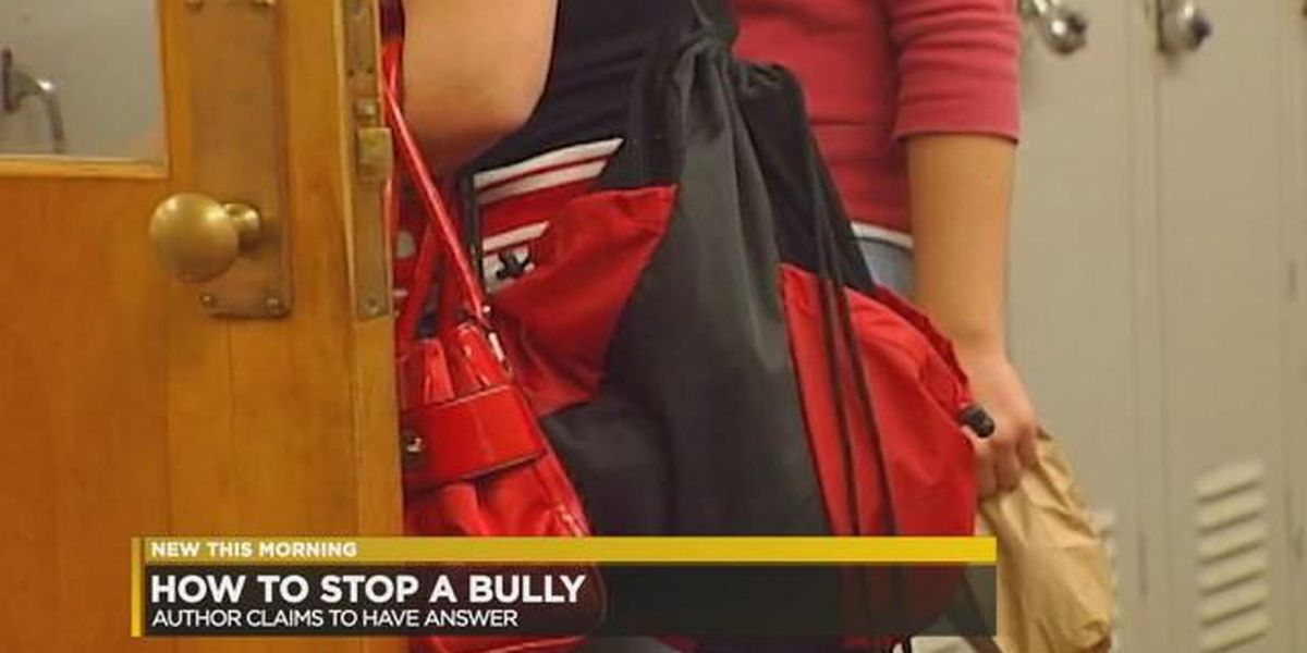 Author of 'Stop Any Bully' says his step-by-step plan has proven to be effective