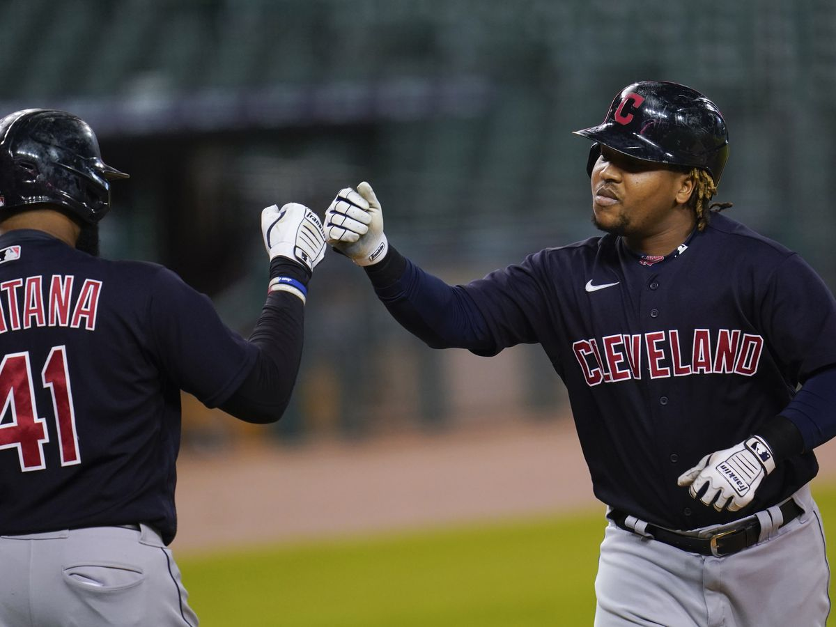 Tribe ends losing skid in Detroit