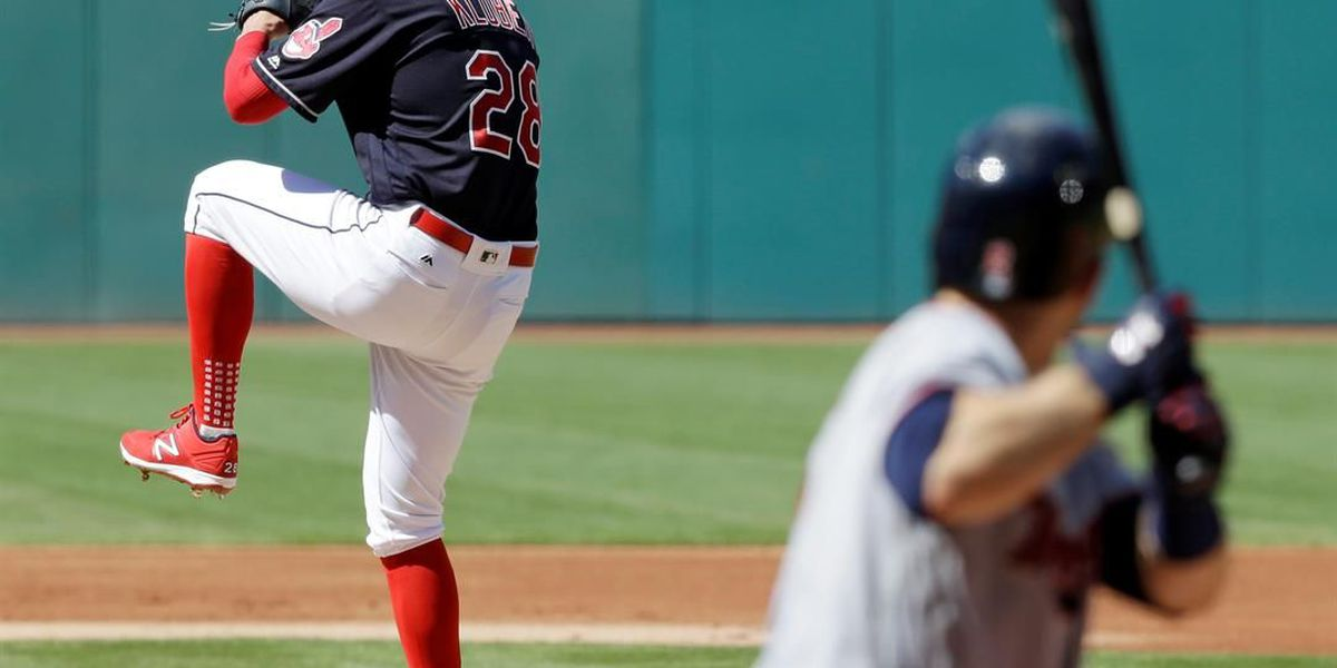Cleveland Indians pitcher Corey Kluber knocked out of game with injury