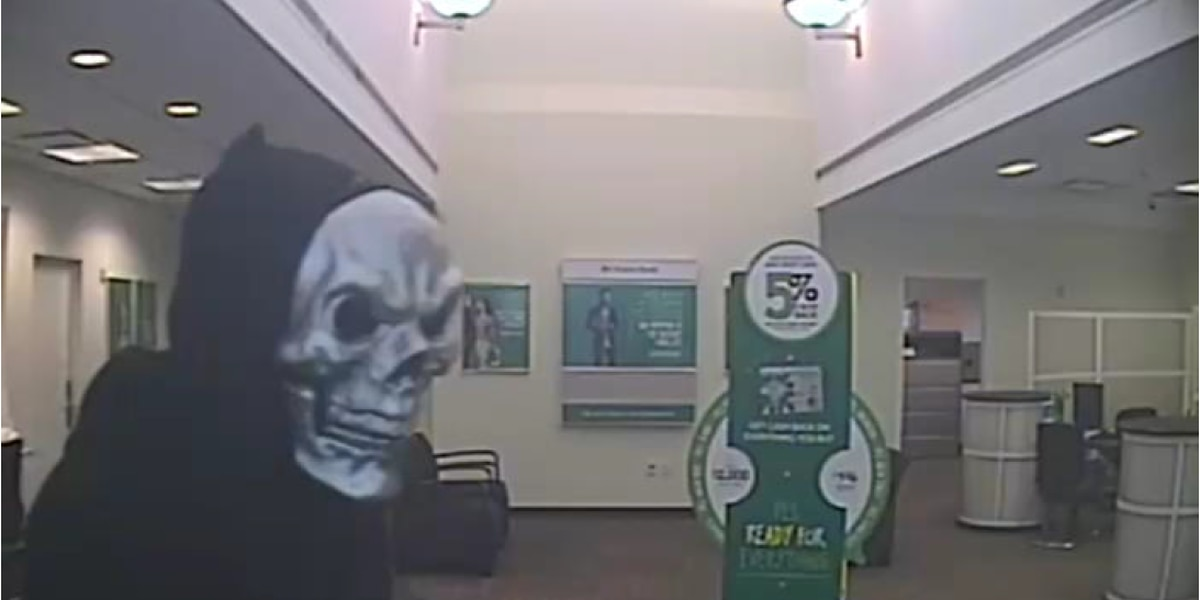 Bedford bank robber who wore skull mask during crime, sentenced to 7 years in prison