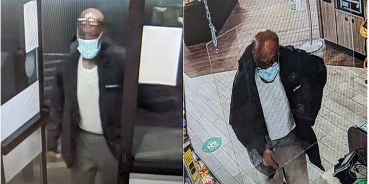 Man wanted by Elyria Police for stealing wallet at gas station