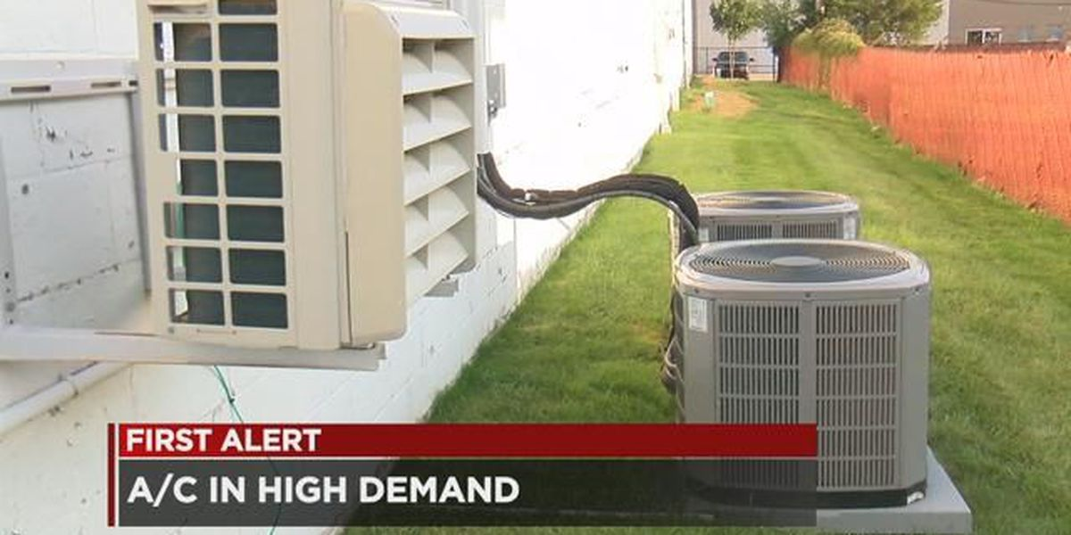 High temps mean busy days for Northeast Ohio A/C companies