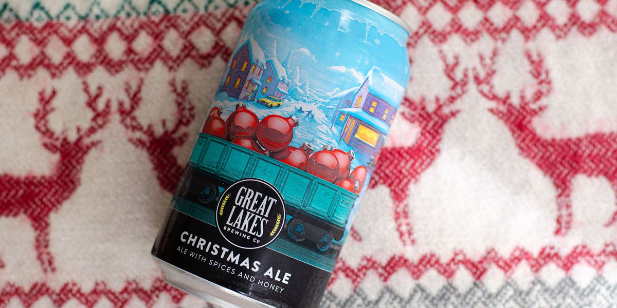 Great Lakes Brewing Co.'s Christmas Ale available in cans for 1st time since 1992 debut