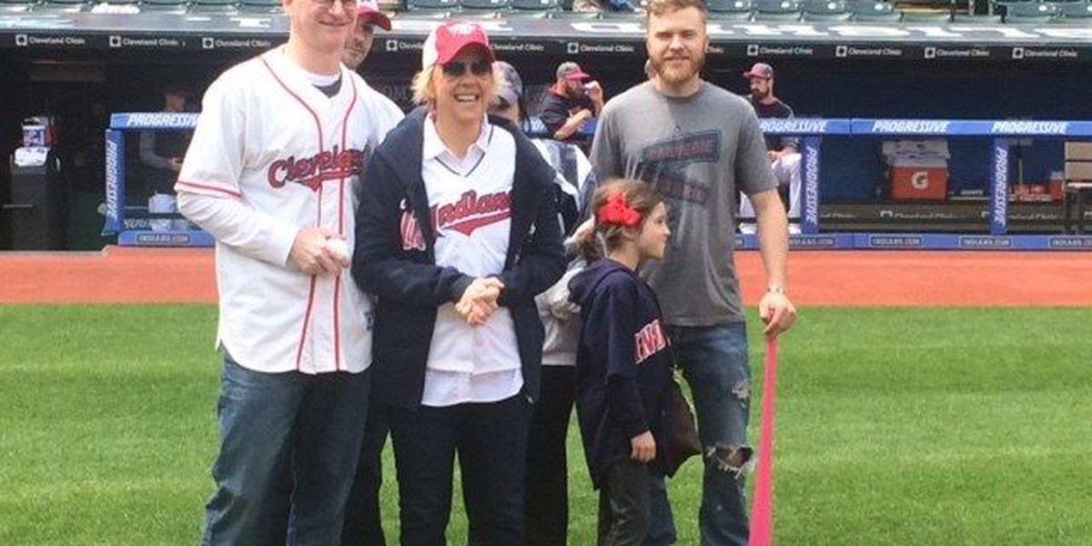Cleveland Indians honor local breast cancer survivor