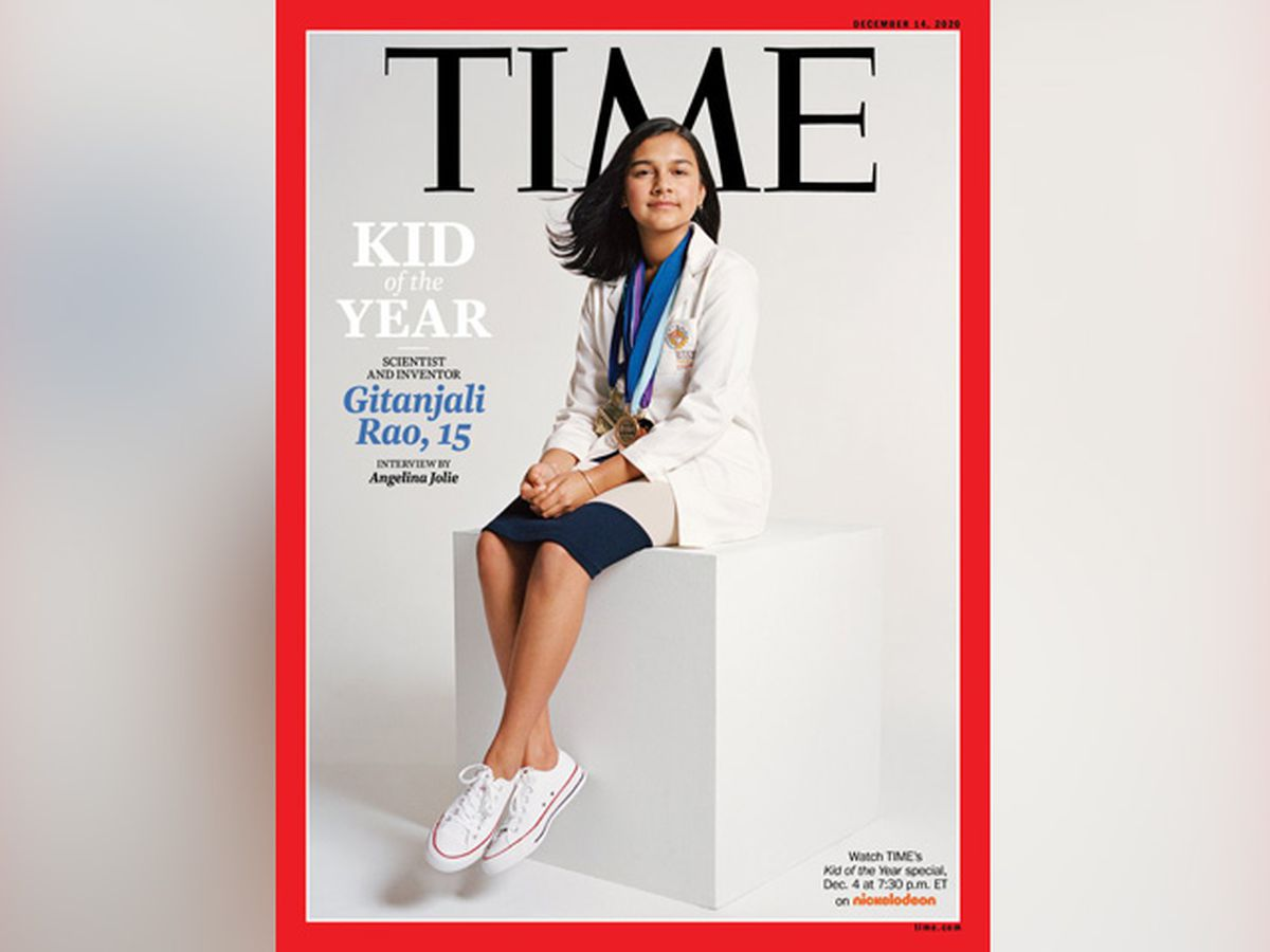 Colorado student, scientist named Time's 'Kid of the Year'