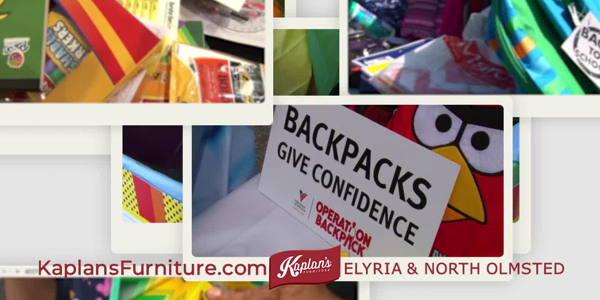 Operation Backpack 2020 - Kaplan's Furniture