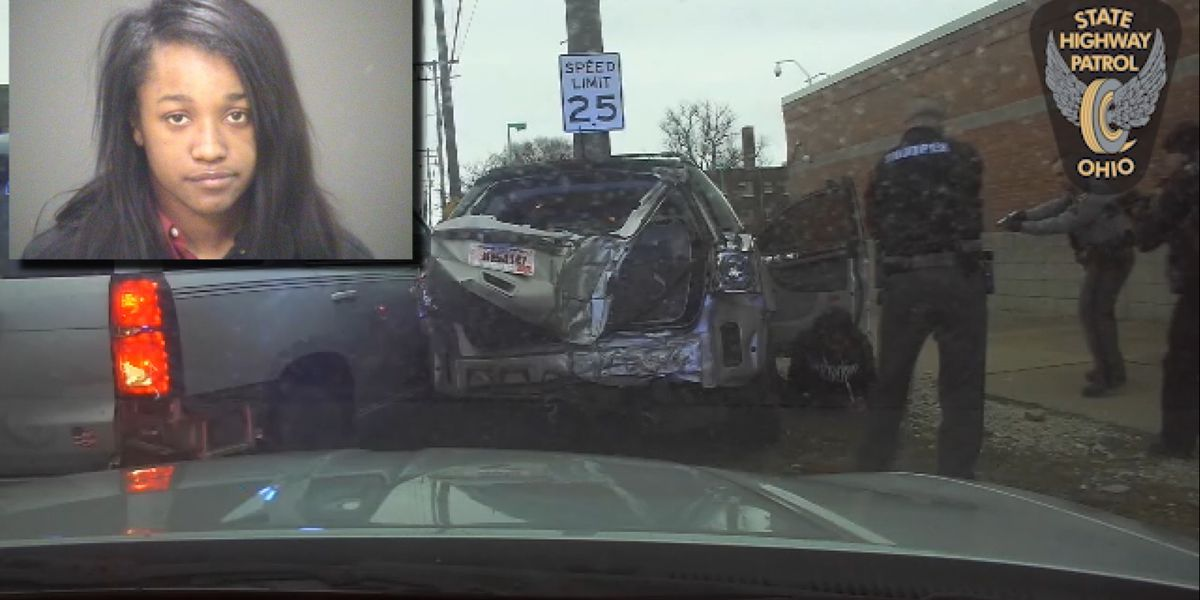 East Cleveland woman who led police on dangerous high-speed pursuit while 'on way to work' pleads guilty