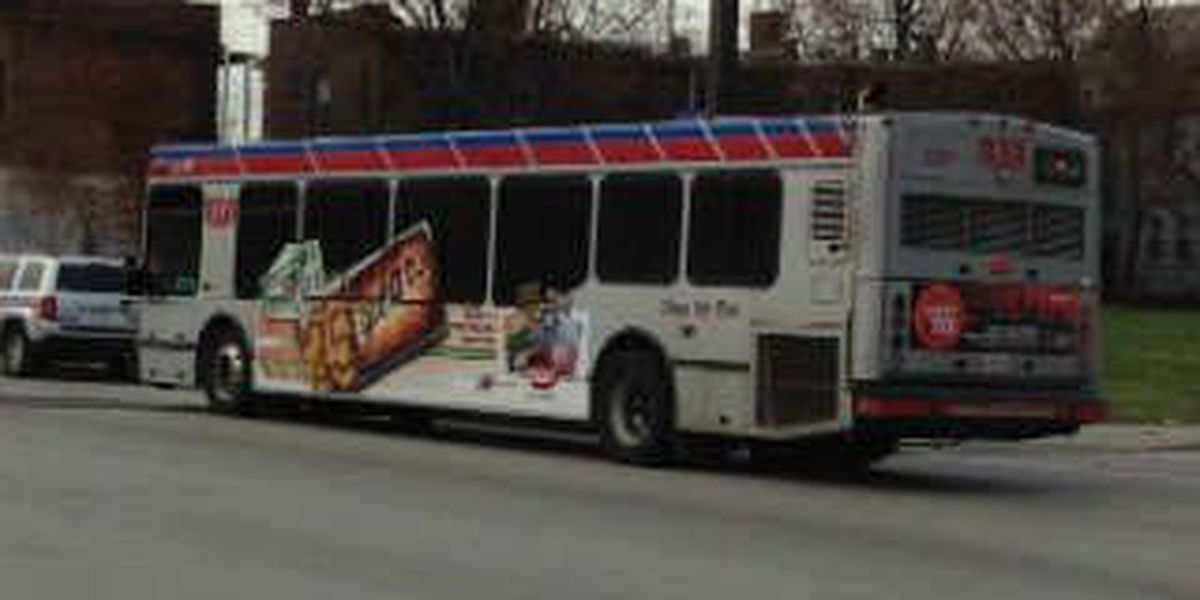 Shots fired at an RTA bus stop