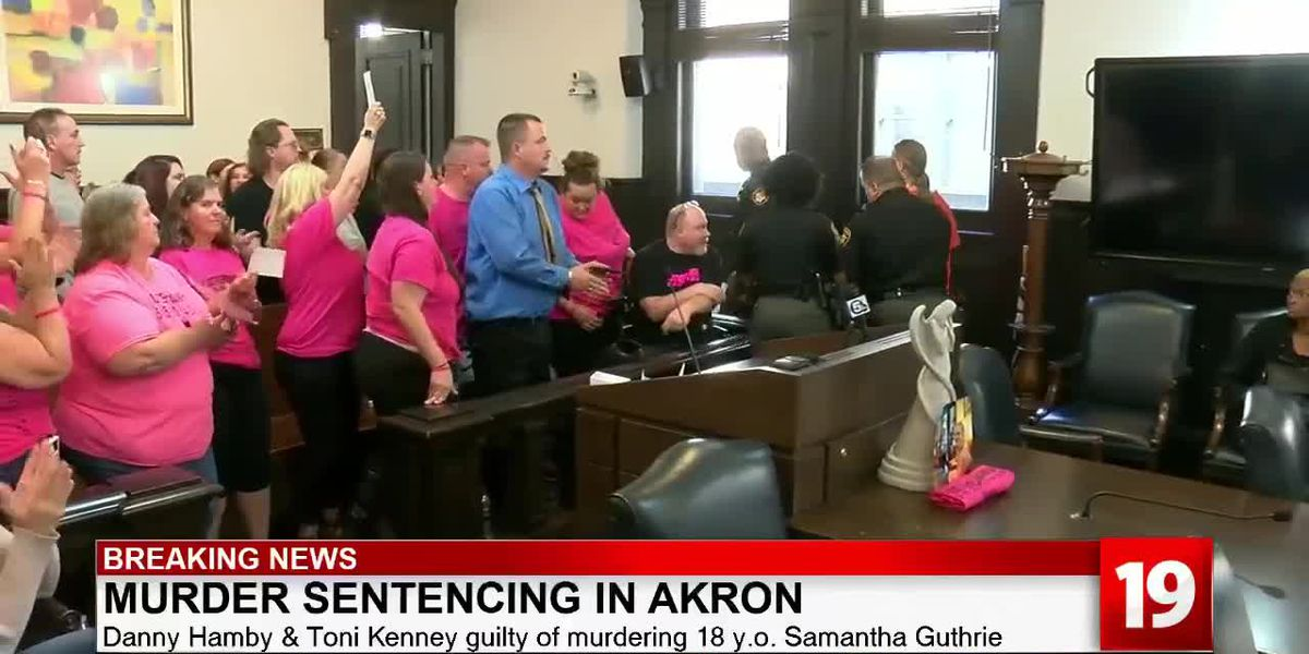 Victim's family cheers as suspects linked to Akron woman's murder receive lengthy prison sentences