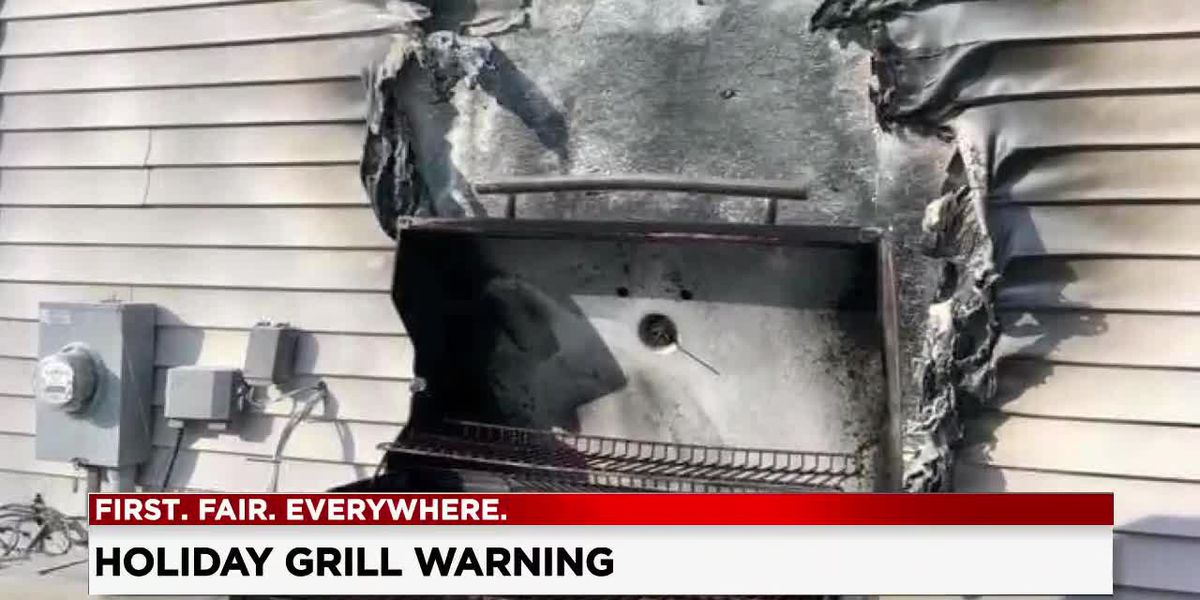 Conneaut firefighters warn residents of dangerous grilling mistake