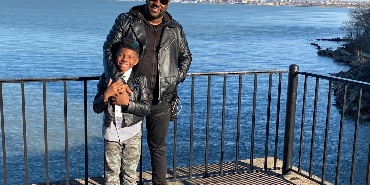 East Cleveland native King Chip says being a single father is far more challenging (and important) than being a star rapper
