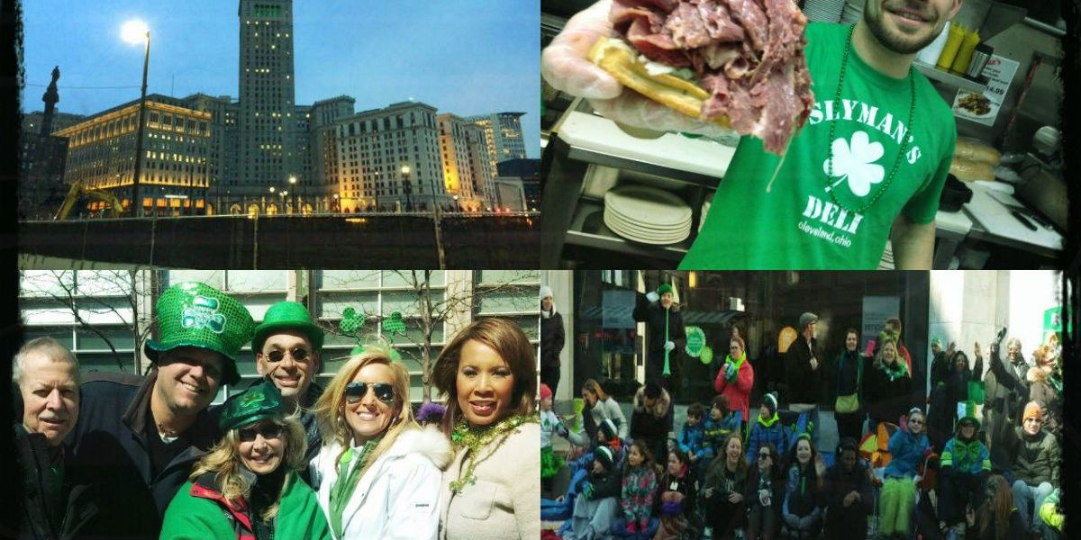 Thousands celebrate St. Patrick's Day in Cleveland
