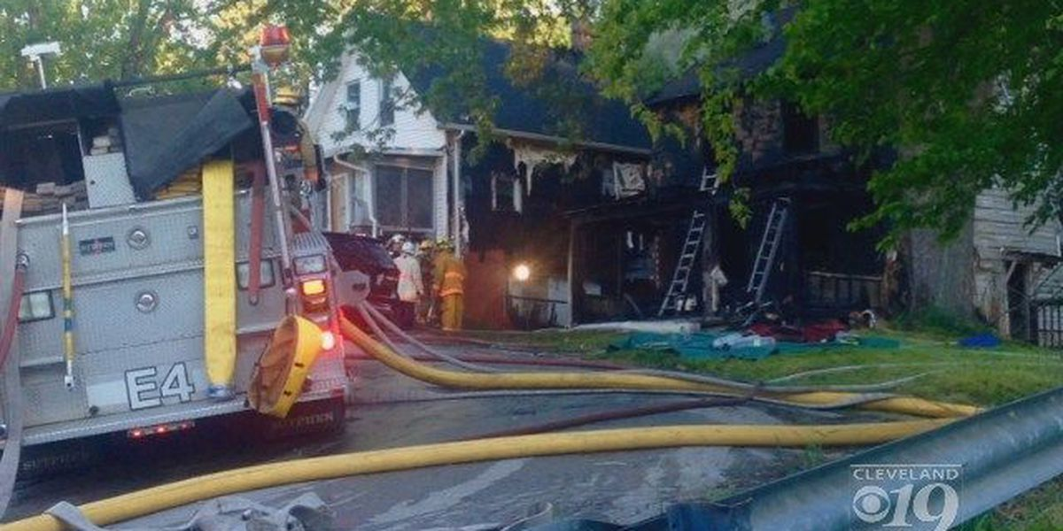 Akron fire: Relative says it 'doesn't seem real'