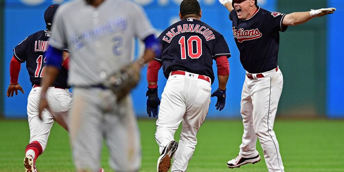 LISTEN: Hammy is the happiest man on the planet after the Indians walk-off win