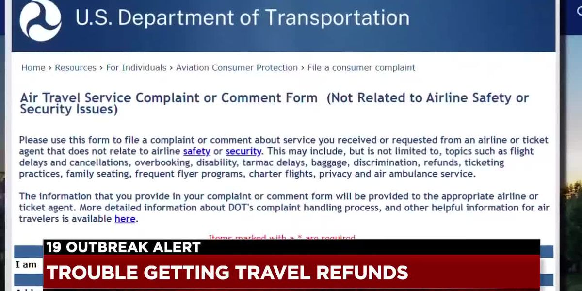 Consumer advocate say they're seeing 'significant increase' in complaints about airline refunds