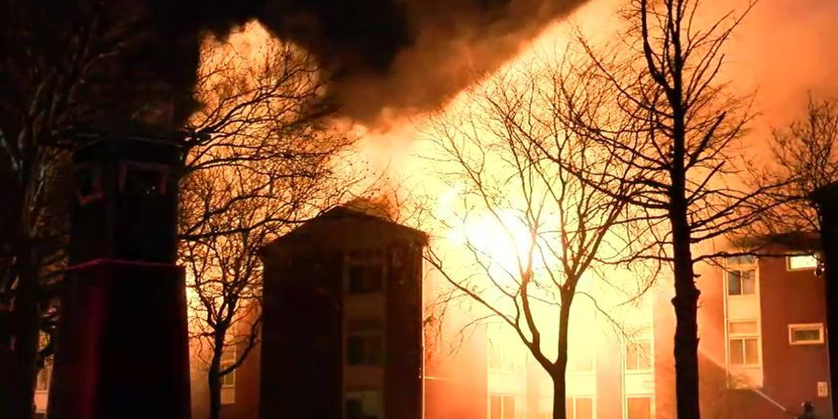 Campaign raises money for 30 Cleveland families that lost home in Rainbow Terrace fire