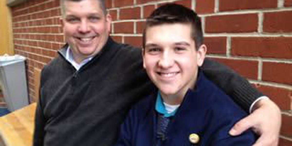 Pulling from personal injury, teen advocates for brain injury awareness