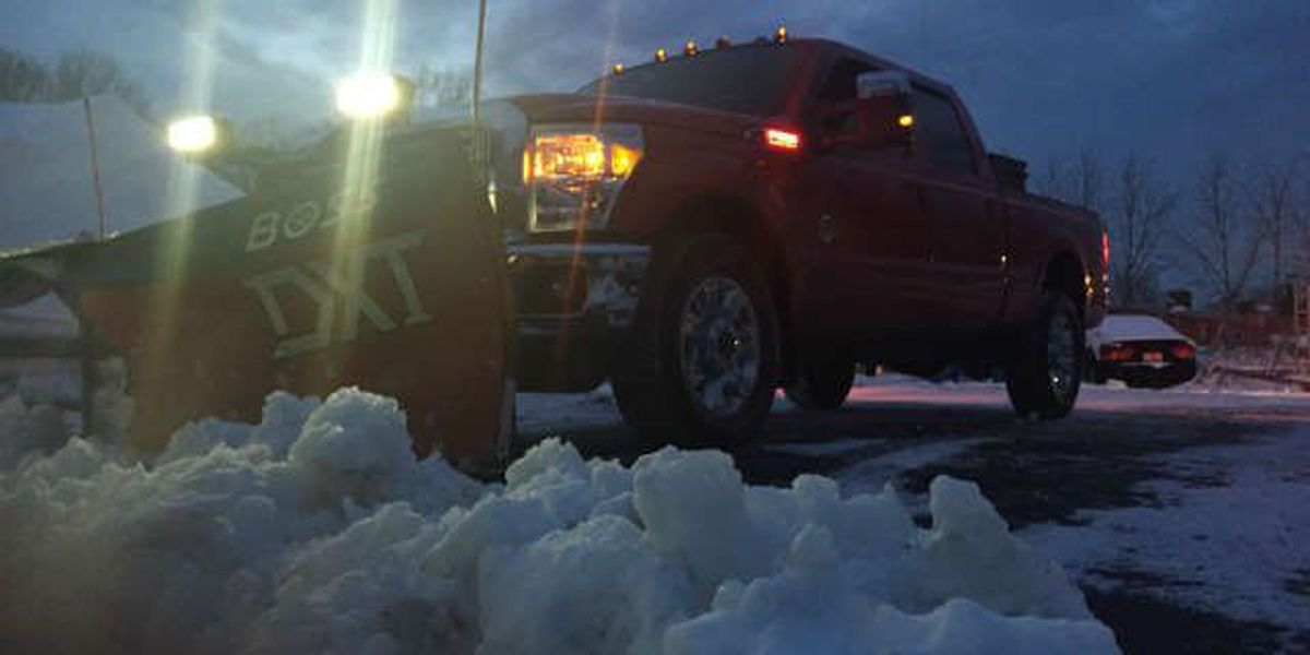 Snow plow drivers dreaming of winter with a 'backbone'