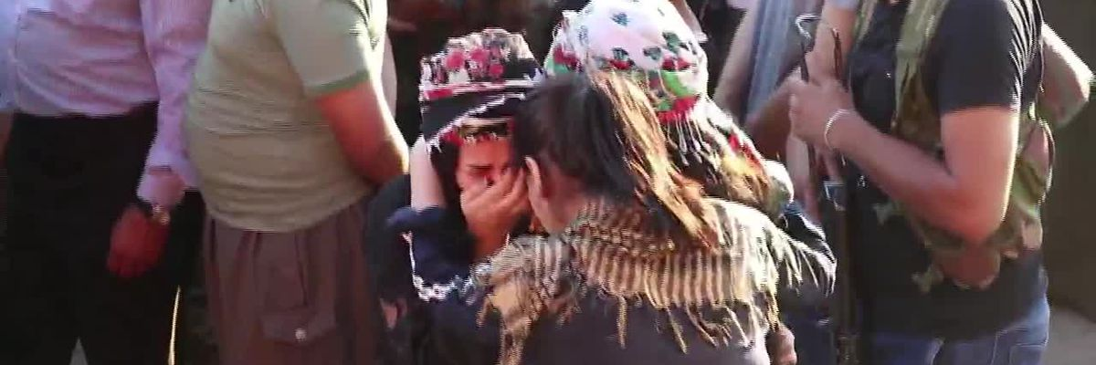 Grim new reality for Kurdish fighters in Syria