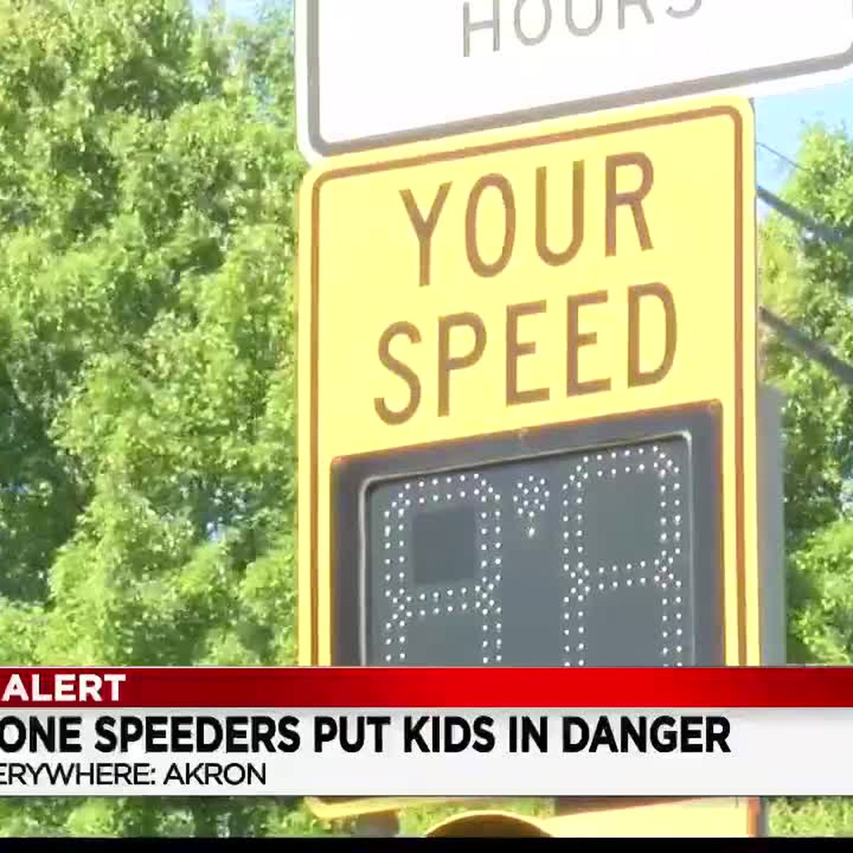 Akron-area school officials asking drivers to slow down, watch for students collecting meals