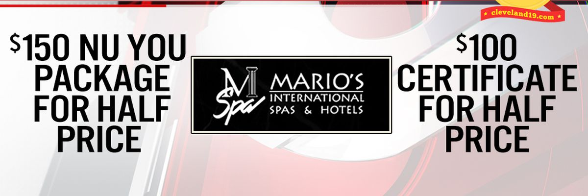 Noon News Giveaway, Thurs 5/2 - Fri 5/3 ~ Win a Mario's Gift Certificate